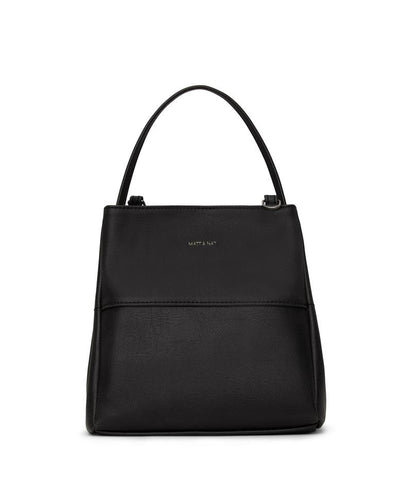 MATT & NAT LADIES WILLA SMALL VINTAGE BLACK HANDBAG