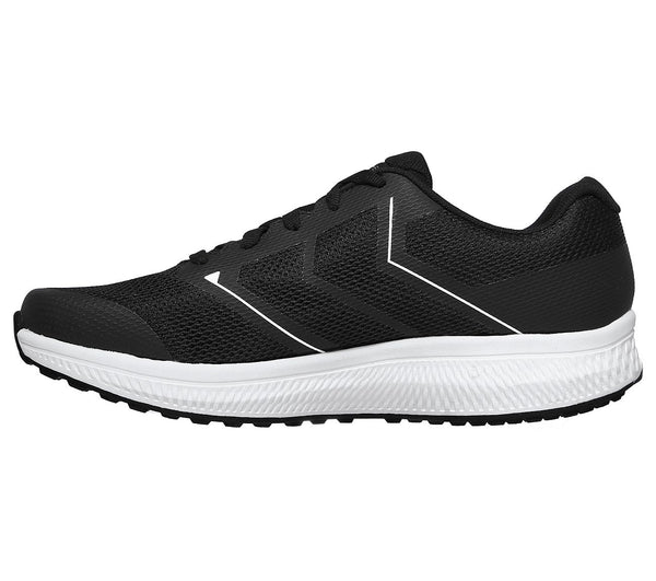SKECHERS MENS GO RUN CONSISTENT-TRACEUR BLACK/WHTE RUNNING SHOE