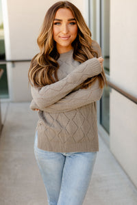 AMPERSAND AVE LADIES THE EMILY GREY SWEATER