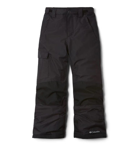 COLUMBIA YOUTH BUGABOO II BLACK SNOW PANT