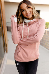 AMPERSAND AVE LADIES BASIC CHARLOTTE DOUBLEHOOD HOODIE