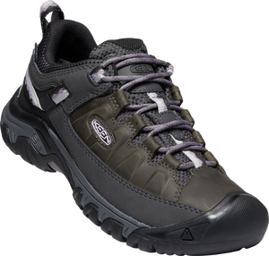 KEEN LADIES TARGHEE III WP BLACK/THISTLE SHOE