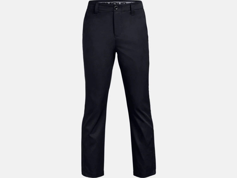 UNDER ARMOUR YOUTH PLAY 2.0 BLACK GOLF PANT