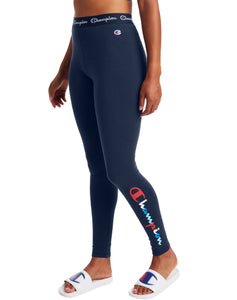 CHAMPION LADIES AUTHENTIC ATHLETIC NAVY LEGGING