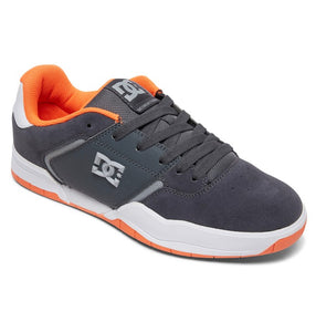 DC MENS CENTRAL DARK GREY/ORANGE SHOE