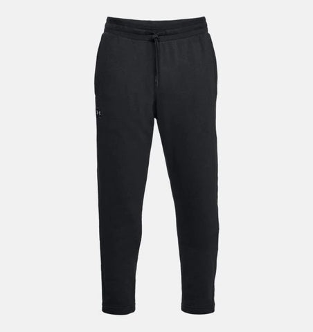 UNDER ARMOUR MENS RIVAL FLEECE BLACK PANT