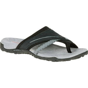 MERRELL LADIES TERRAN POST II BLACK SANDAL