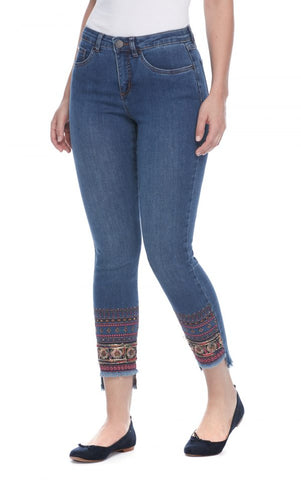 FDJ LADIES OLIVIA DENIM SLIM ANKLE JEAN