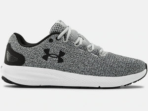 UNDER ARMOUR MENS CHARGED PURSUIT 2 TWIST MOD GREY RUNNING SHOE