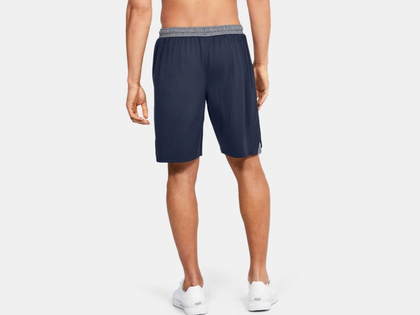 UNDER ARMOUR MENS LOCKER 9IN MIDNIGHT NAVY POCKET SHORT