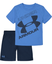 UNDER ARMOUR TODDLER BOYS WATER COLOUR SHORT SET