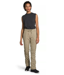 THE NORTH FACE LADIES APHRODITE 2.0 TWILL BEIGE PANT
