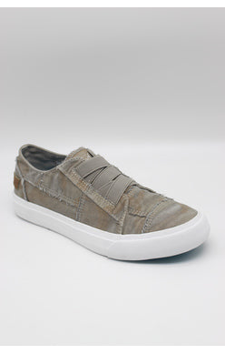 BLOWFISH LADIES MARLEY WOLF GREY CAMOFLAUGE CANVAS SHOE