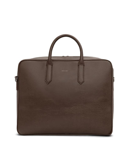 MATT & NAT ELON DWELL CHESTNUT BRIEFCASE
