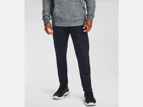 UNDER ARMOUR MENS ARMOUR FLEECE BLACK PANT