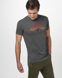 TEN TREE MENS VINTAGE SUNSET CLASSIC GARGOYLE GREY TSHIRT