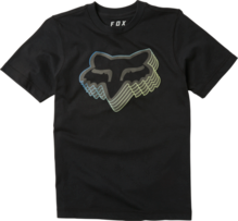 FOX YOUTH WARP SPEED BLACK TSHIRT