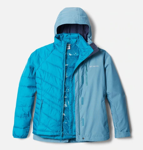 COLUMBIA LADIES WHIRLIBIRD IV INTERCHANGE CANYON BLUE WINTER JACKET