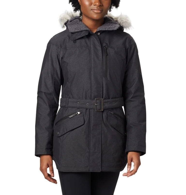 COLUMBIA LADIES CARSON II PASS BLACK WINTER JACKET