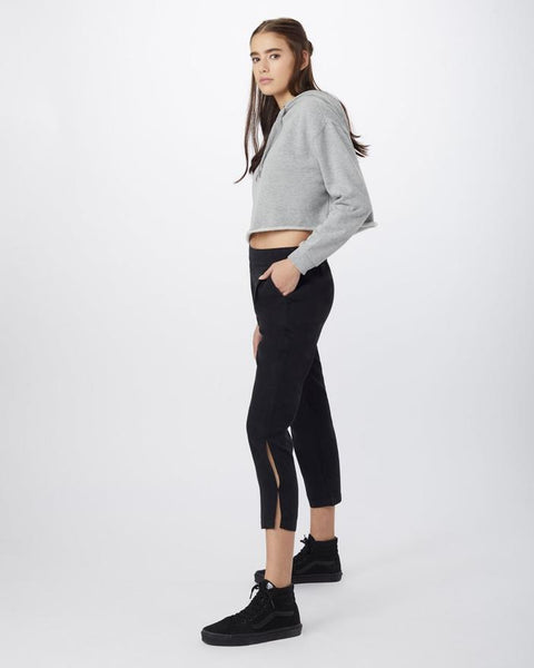 TEN TREE LADIES LANGFORD 7/8 METEORITE BLACK PANT