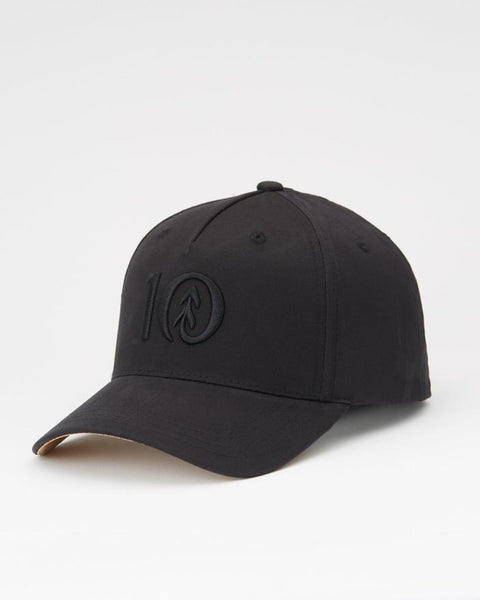 TEN TREE LOGO CORK BRIM ALTITUDE METEORITE BLACK HAT