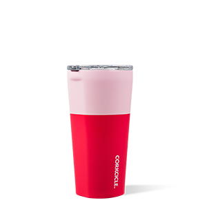 CORKCICLE 160Z COLOR BLOCK SHORTCAKE TUMBLER