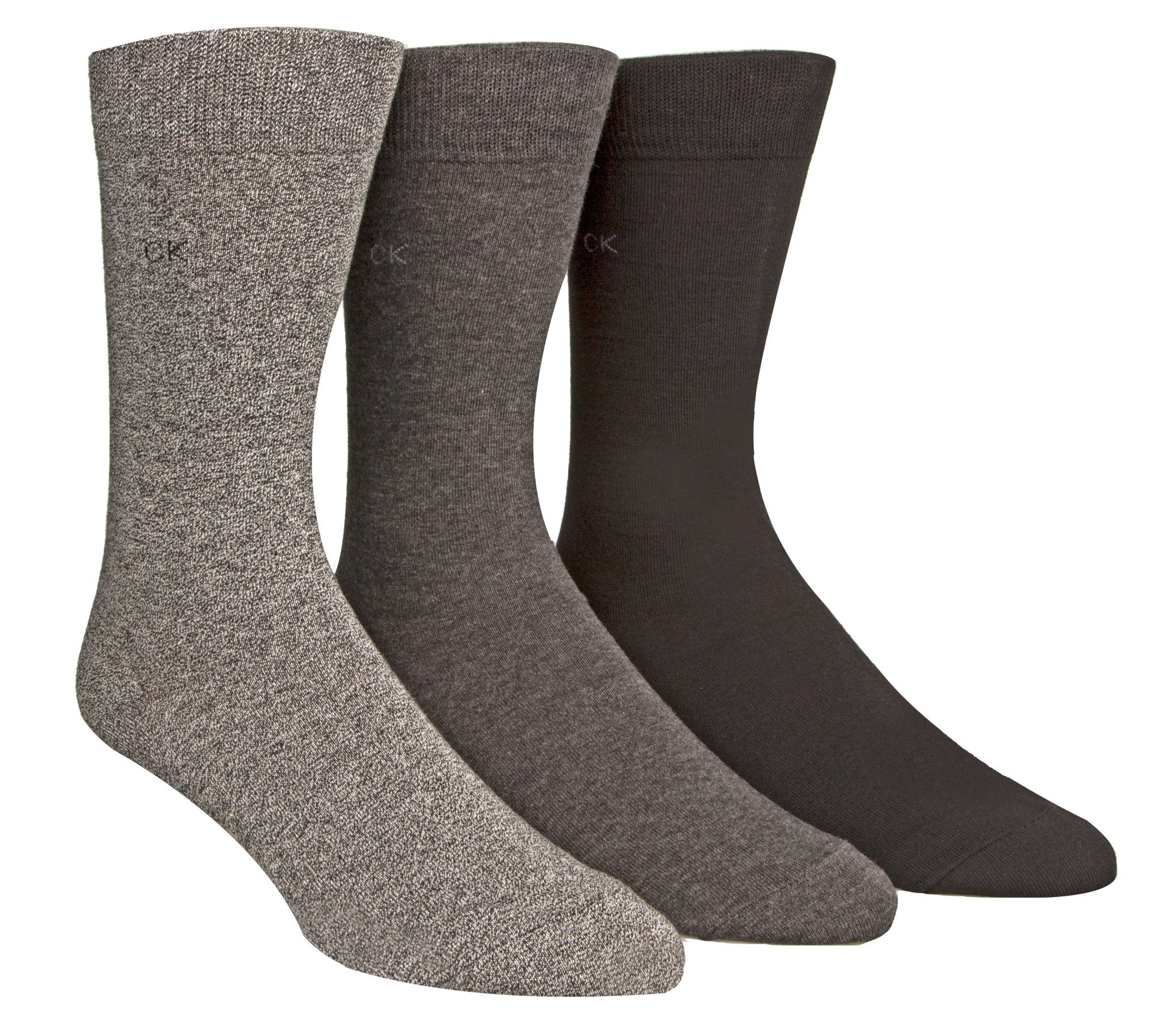 MCGREGOR MENS CALVIN KLIEN 3PK ASSORTED DRESS SOCK