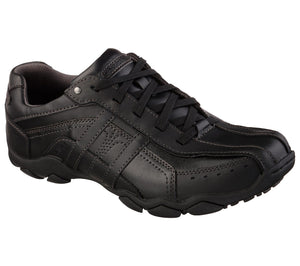 SKECHERS MENS DIAMETER MURILLO BLACK SHOE