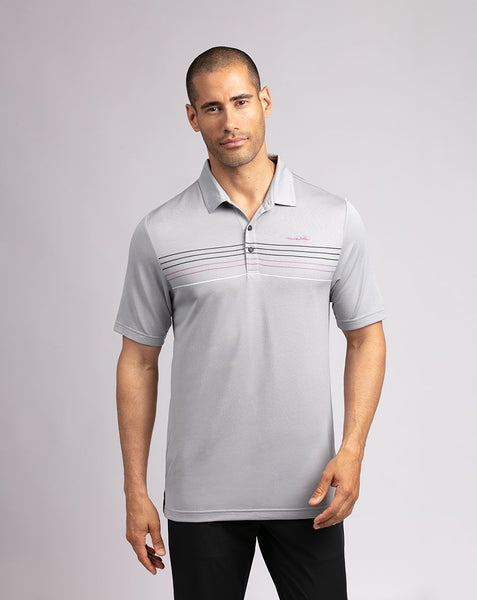 TRAVIS MATHEW MENS LOOSE CHANGE SLEET GOLF SHIRT