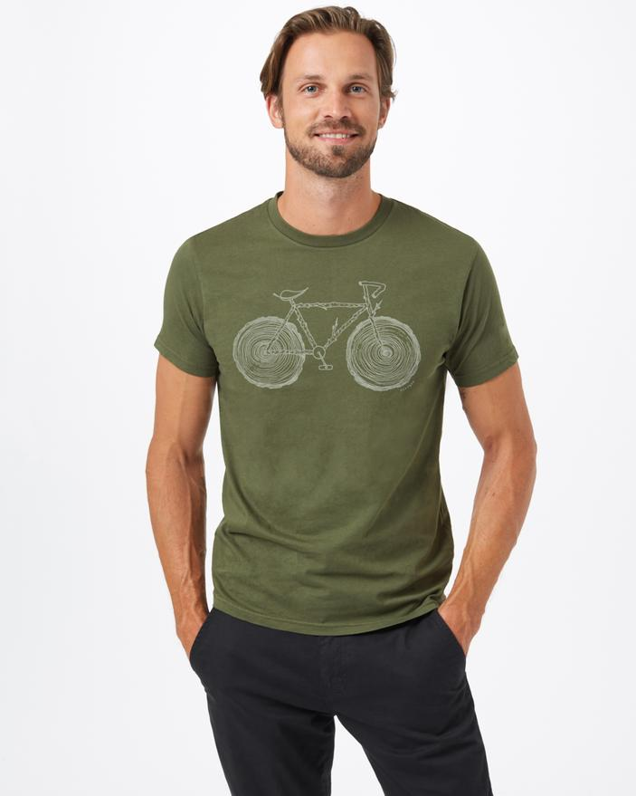 TEN TREE MENS ELMS CLASSIC OLIVE NIGHT GREEN TSHIRT