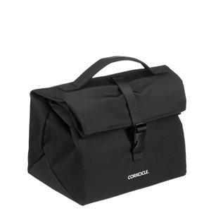 CORKCICLE NONA ROLL TOP BLACK LUNCHBOX