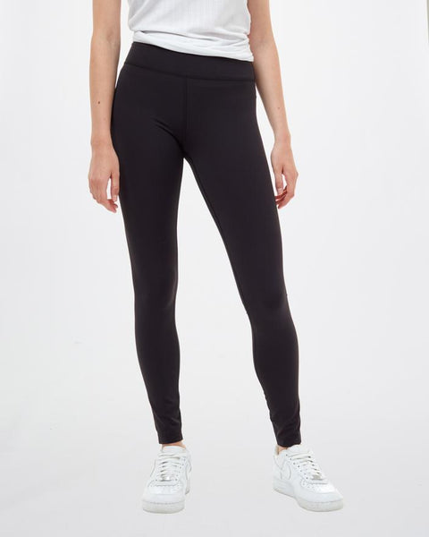 TEN TREE LADIES INMOTION HIGH RISE METEORITE BLACK LEGGING