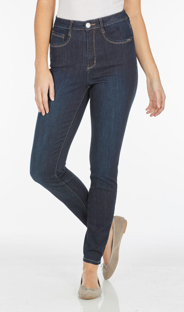 FDJ LADIES SUZANNE SLIM LEG TWILIGHT JEAN