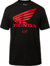 FOX MENS HONDA BLACK TSHIRT
