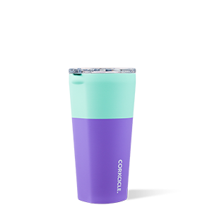 CORKCICLE 160Z COLOR BLOCK MINT BERRY TUMBLER