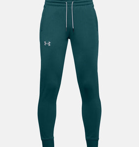 UNDER ARMOUR YOUTH FLEECE BLACKOUT TEAL JOGGER