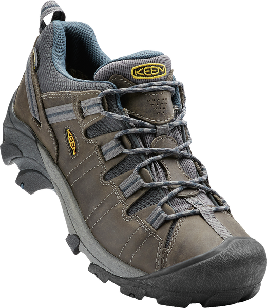 KEEN MENS TARGHEE II GARGOYLE/MIDNIGHT NAVY SHOE