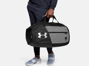 UNDER ARMOUR UNDENIABLE 4.0 MED GRAPHITE MED HEATHER DUFFLEBAG