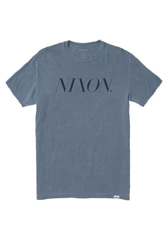 NIXON MENS WINTOUR DENIM TSHIRT