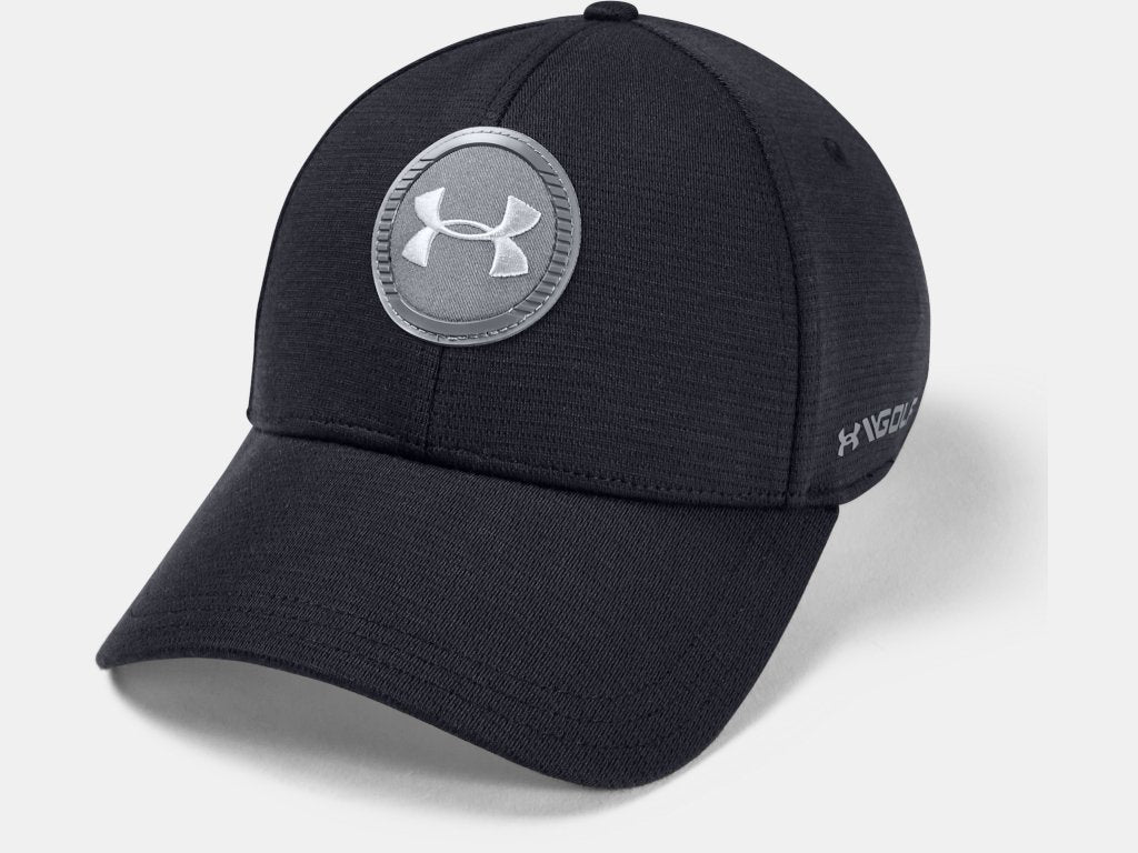 UNDER ARMOUR MENS ISO-CHILL TOUR BLACK HAT
