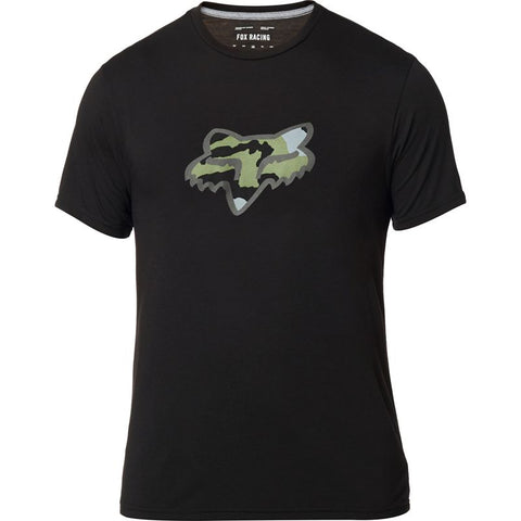 FOX MENS PREDATOR TECH BLACK TSHIRT