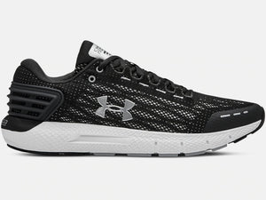 UNDER ARMOUR MENS CHARGED ROGUE BLACK RUNNING SHOE