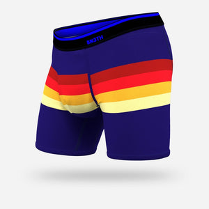 BN3TH MENS CLASSIC RETROSTRIPE NAVY BOXER BRIEF
