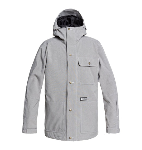 DC MENS SERVO FROST GREY SNOW JACKET