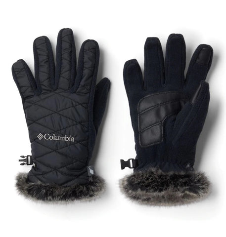 COLUMBIA LADIES HEAVENLY BLACK GLOVE