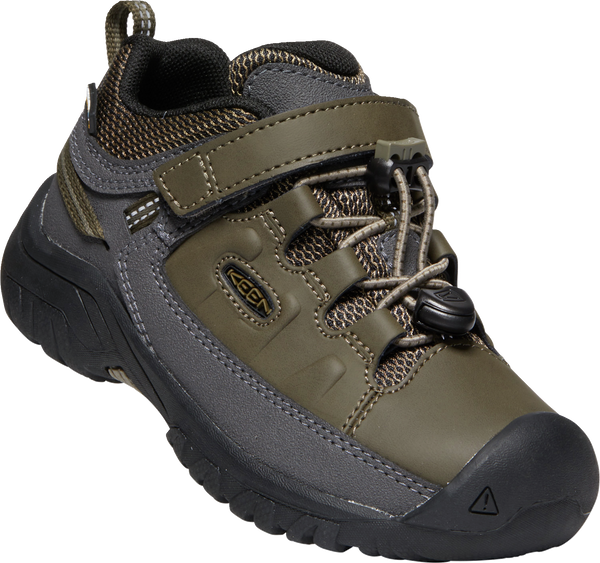 KEEN YOUTH TARGHEE LOW WP BUNGEE CORD/DARK OLIVE SHOE