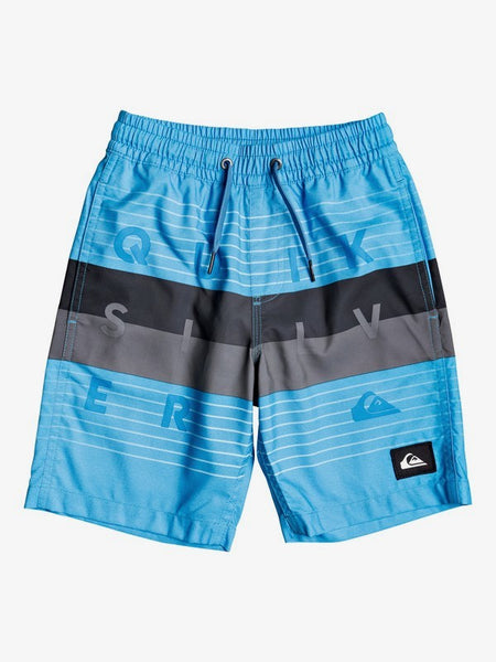 "QUIKSILVER TODDLER WORD BLOCK 14"" BLITHE VOLLEY SHORT"