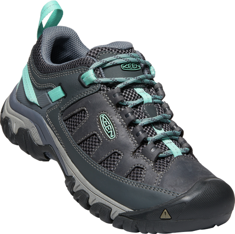 KEEN LADIES TARGHEE VENT STEEL GREY/OCEAN WAVE SHOE