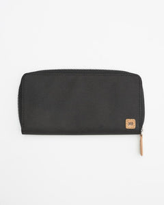 TEN TREE BANKER ZIP METEORITE BLACK WALLET
