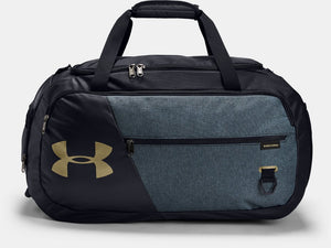 UNDER ARMOUR UNDENIABLE 4.0 MED BLACK/BLUE DUFFLEBAG